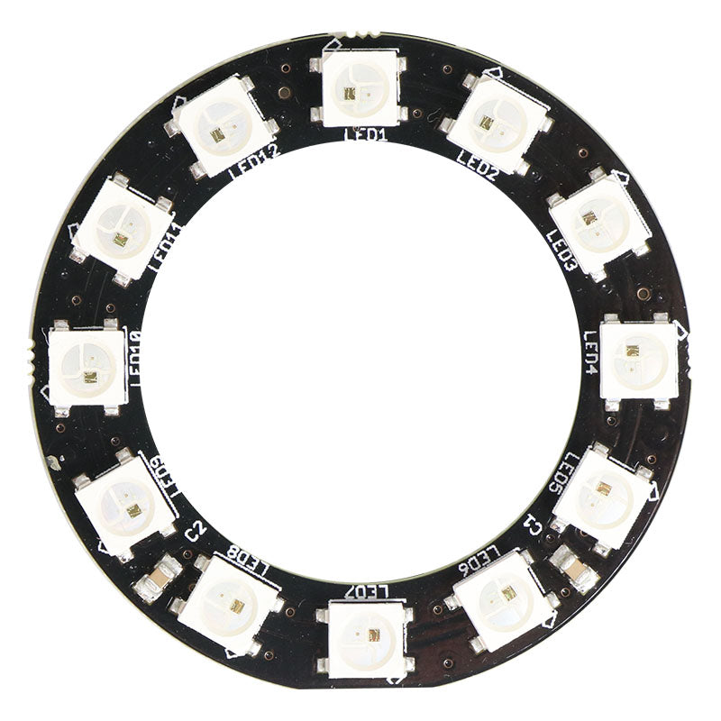 large zip led circle