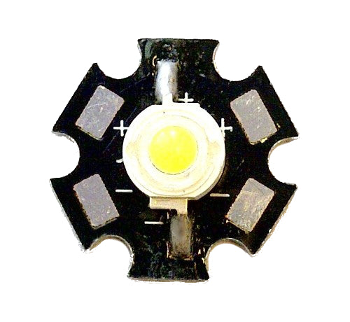 large 1w warm white power star led