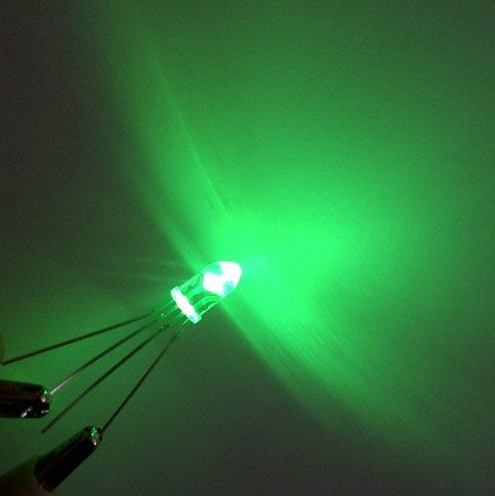 C additional rgb 5mm led green