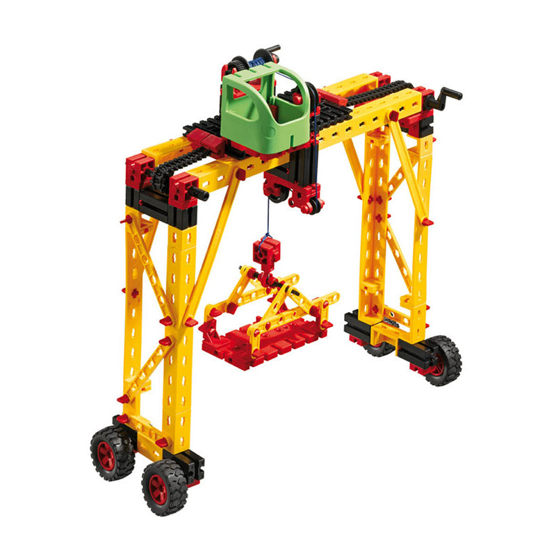 additional fischertechnik simple machines stem crane