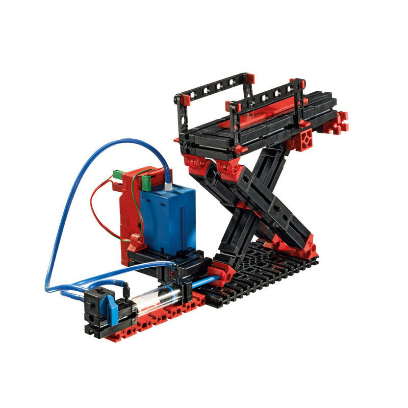 additional fischertechnik pneumatics stem cherry picker