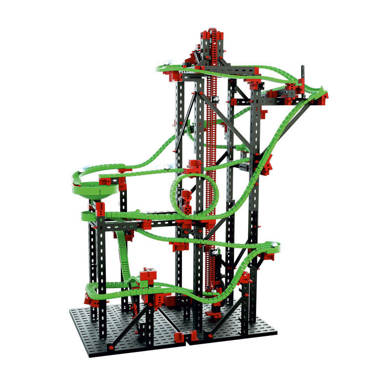 additional fischertechnik physics stem roller coaster