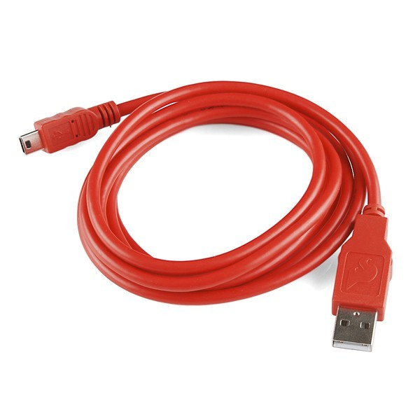 large mini a to b usb cable