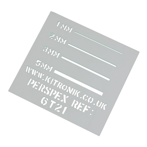 large glass look clear perspex sheet 3mm 600mm 400mm sheets