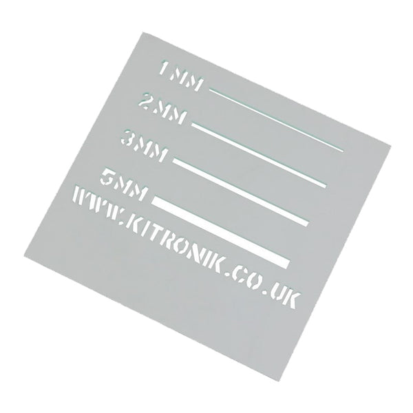 Clear Value Acrylic Sheet (Cast) 5mm x 600mm x 400mm