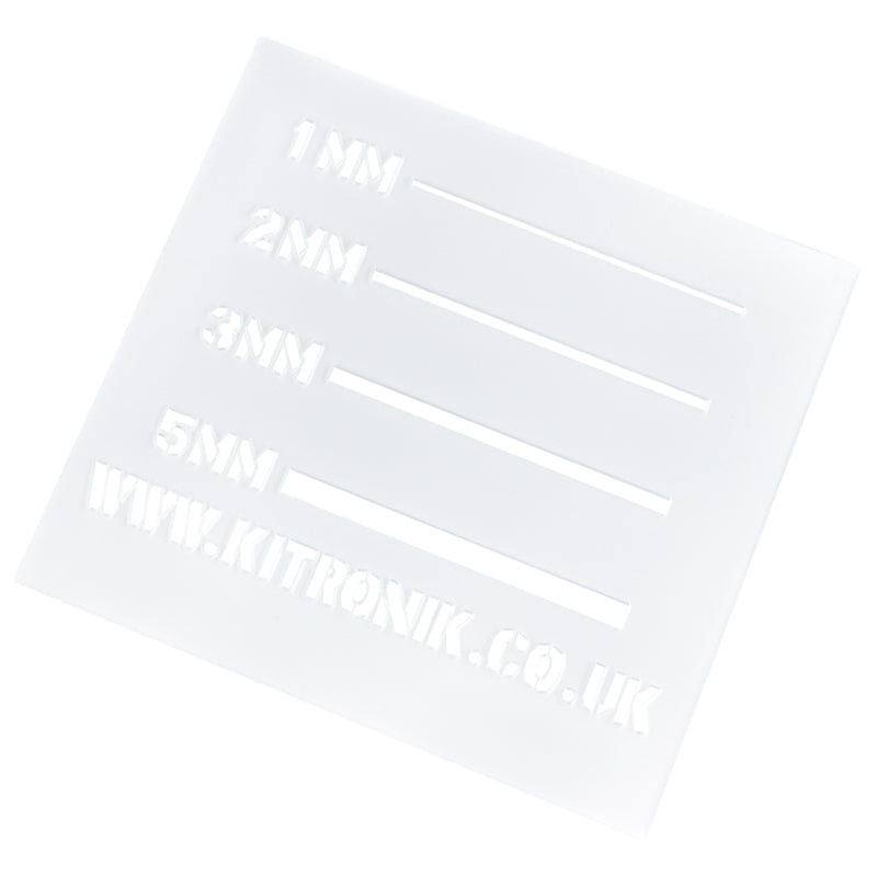 Clear PETG Sheet 0.5mm x 297mm x 210mm (A4)