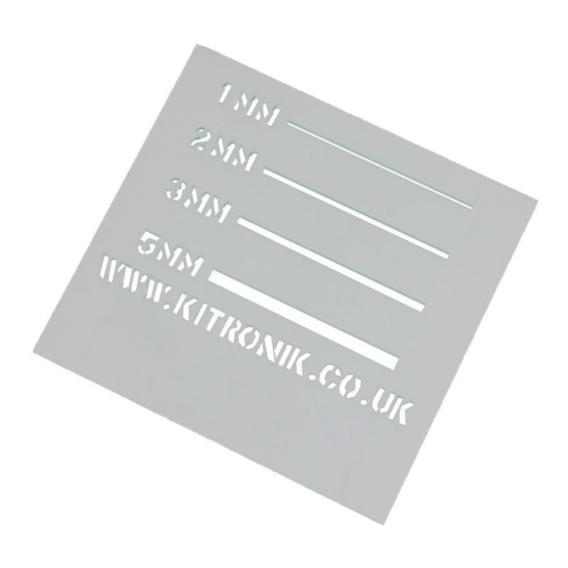 Clear Value Acrylic Sheet (Cast) 3mm x 1000mm x 600mm