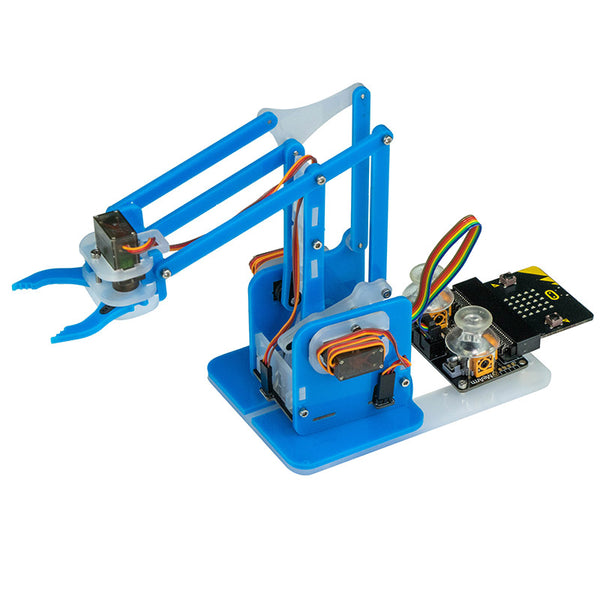 large mearm microbit blue robot arm