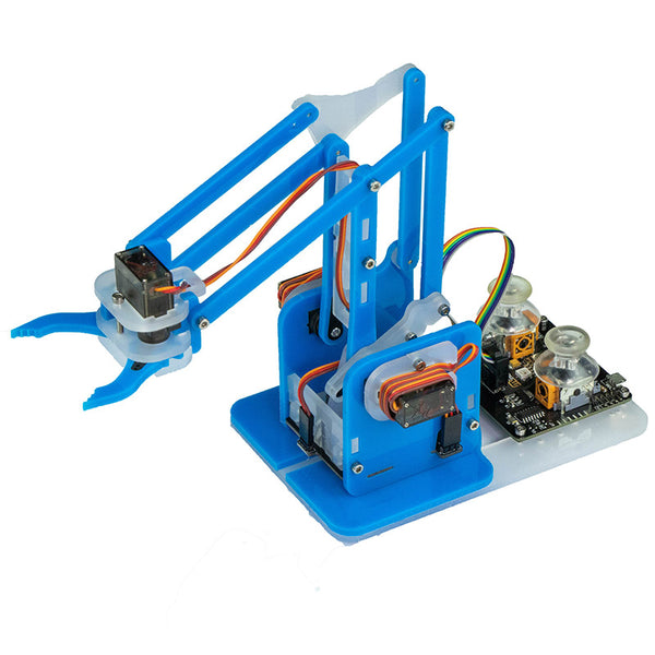 large mearm arduino blue robot arm