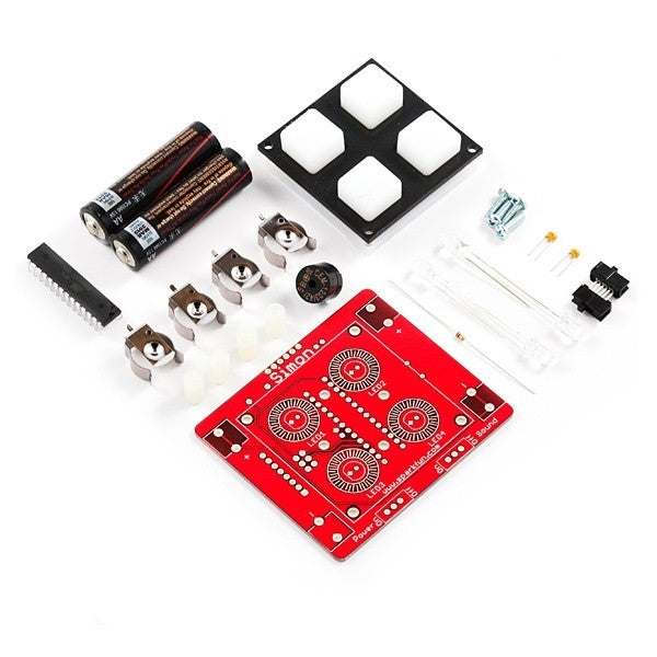 additional simon says game through hole soldering kit parts