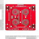 additional simon says game through hole soldering kit pcb top