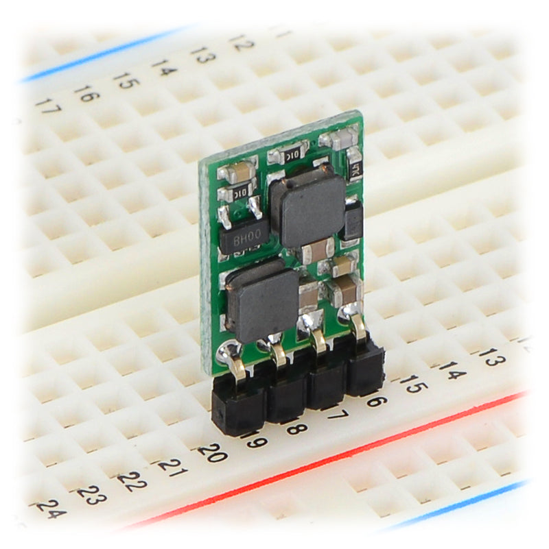 additional 5v step up step down voltage regulator breadboard