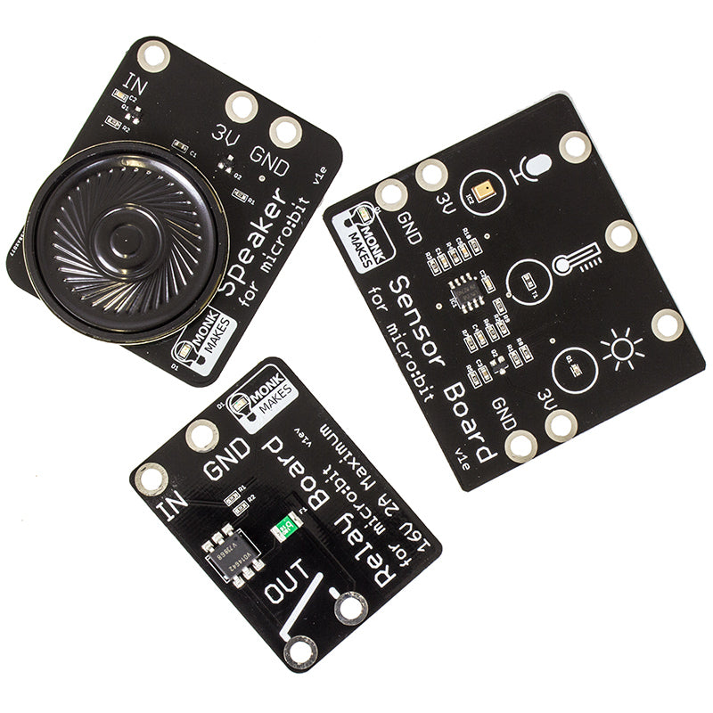 additional monkmakes sensor board microbit all boards