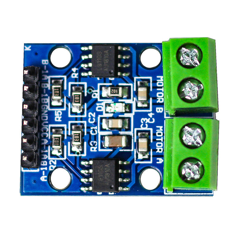 large l9110s 2 channel motor driver 2.5v 12v h bridge stepper motor