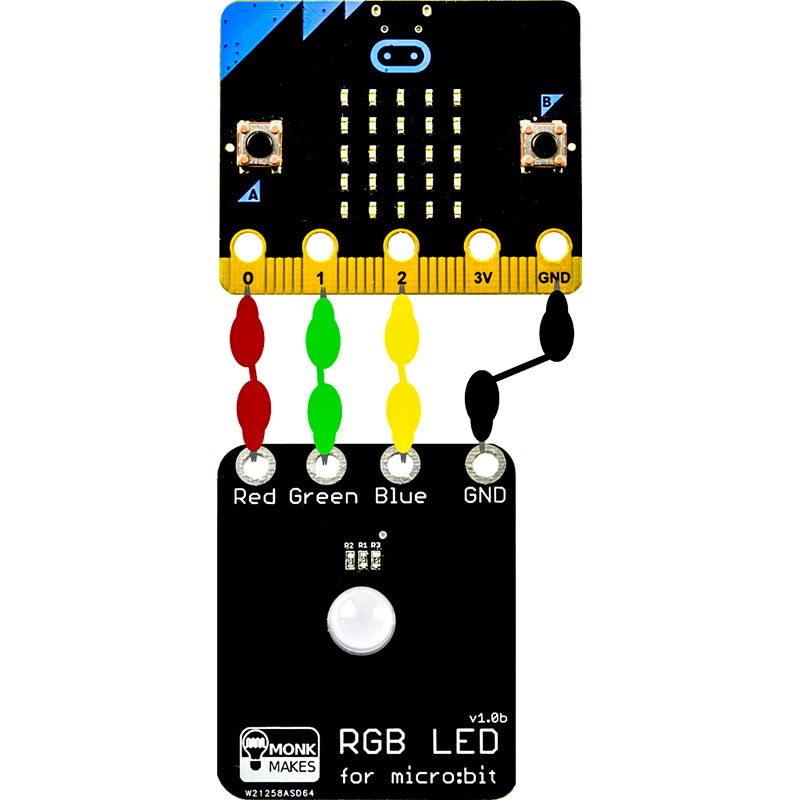 additional monk makes rgb led microbit