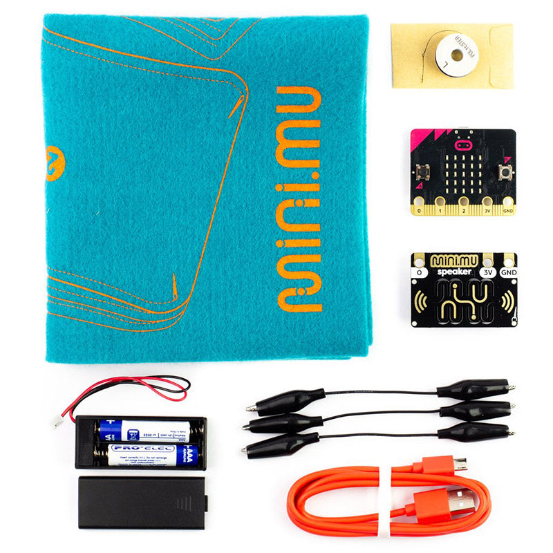 additional mini mu glove microbit parts