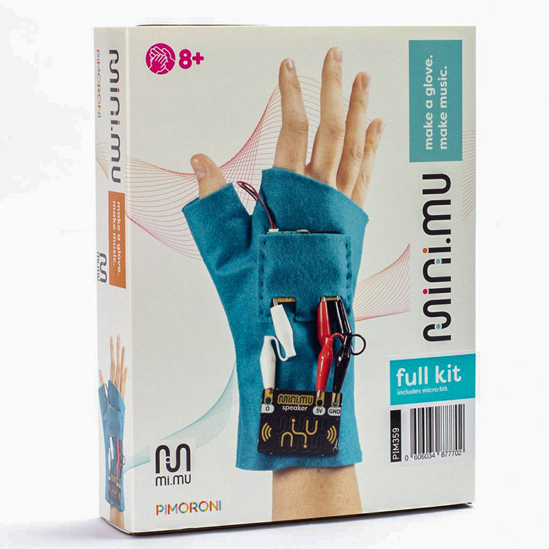 large mini mu glove microbit