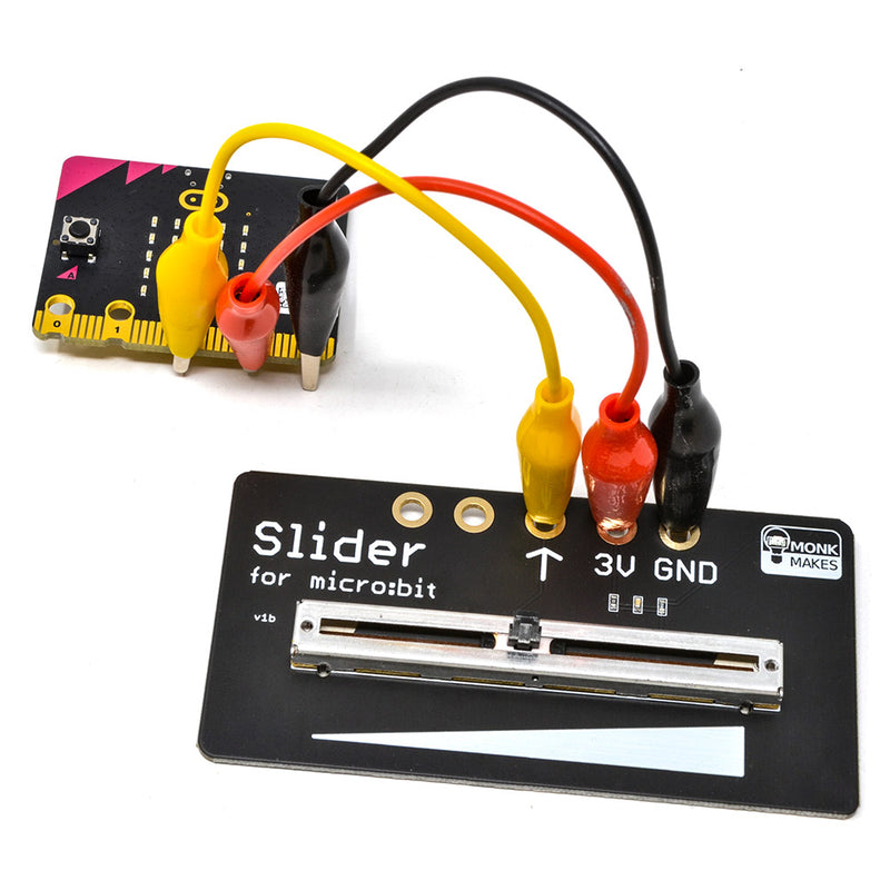Monk Makes Slider for micro:bit 2