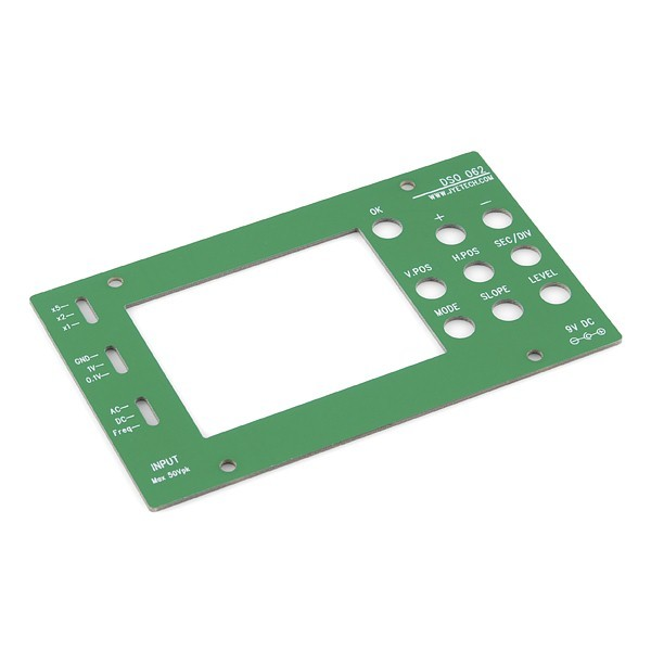 additional digital oscilloscope DIY kit plate