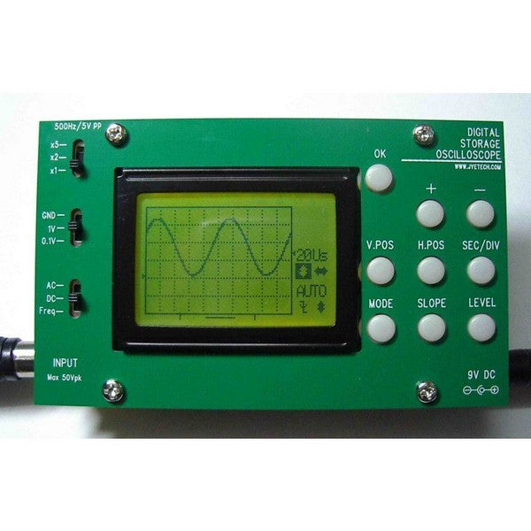 large digital oscilloscope DIY kit