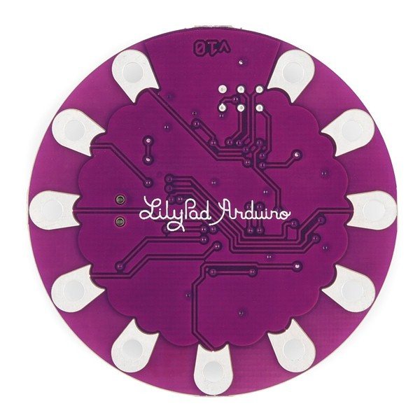 additional lilypad arduino USB ATmega32U4 board back