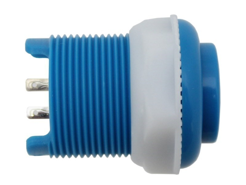 additional 33mm push button blue