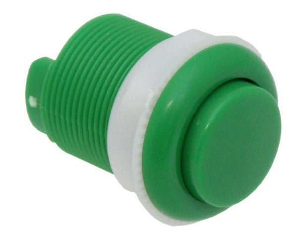 large 33mm push button green