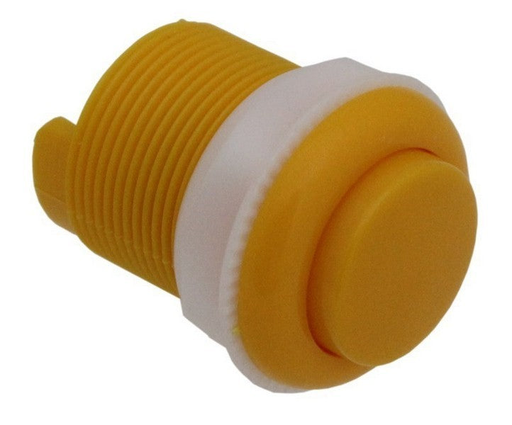 large 33mm push button yellow