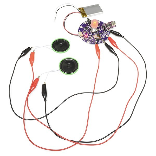 additional lilypad mp3 player