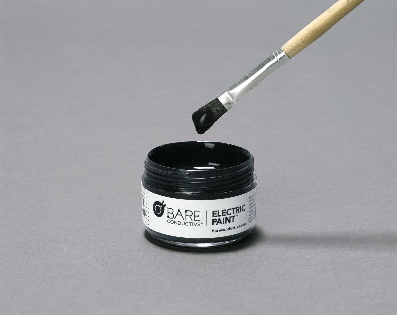large bare conductive electric paint pot