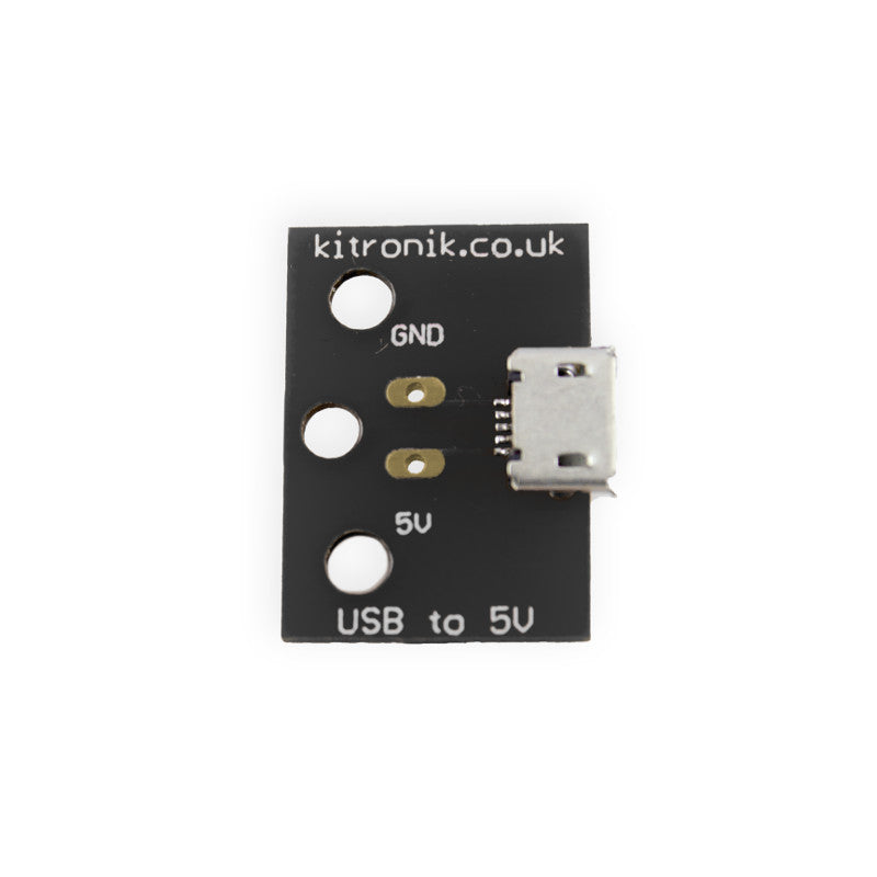 large usb to 5v breakout board