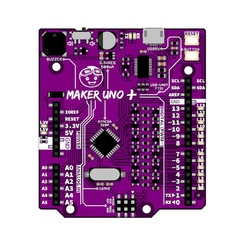 additional cytron maker uno plus arduino education board