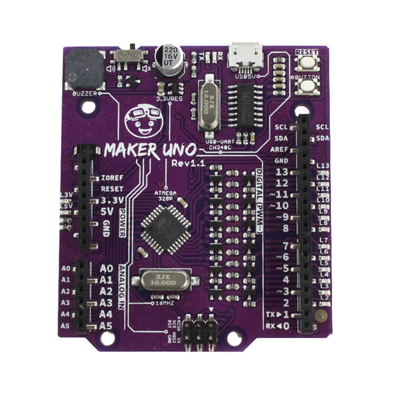 Maker Uno: Simplifying Arduino for Education