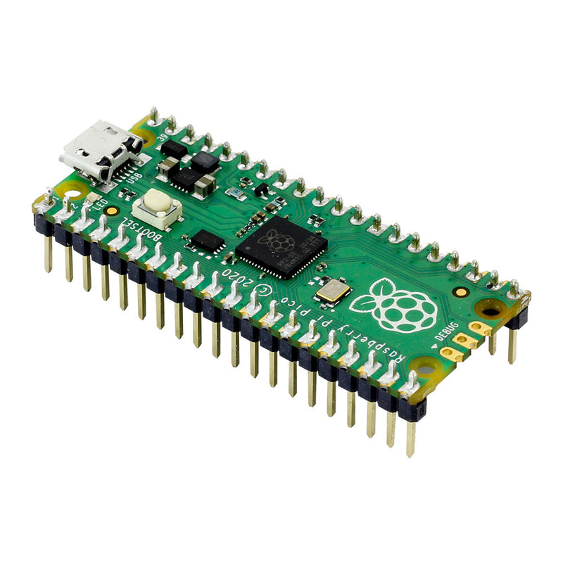 Kitronik Discovery Kit for Raspberry Pi Pico (Pico Included) pico board with pin headers