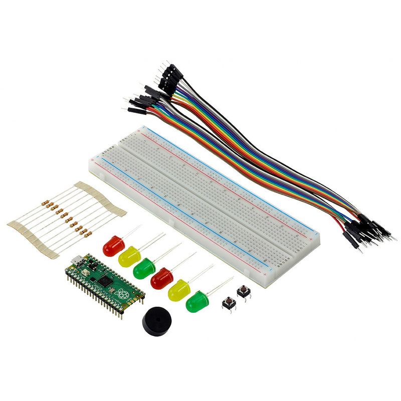 Kitronik Discovery Kit for Raspberry Pi Pico (Pico Included) parts