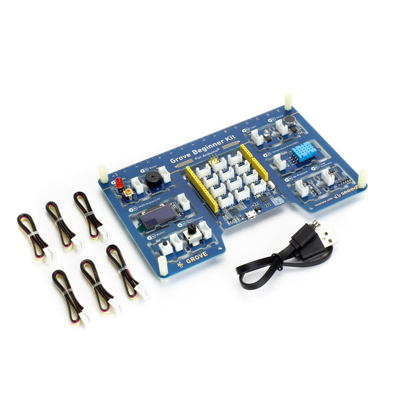 Grove Beginner Kit for Arduino - All-in-one Arduino Compatible Board