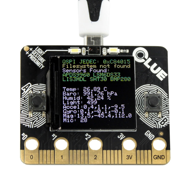 Adafruit CLUE nRF52840 Express with Bluetooth