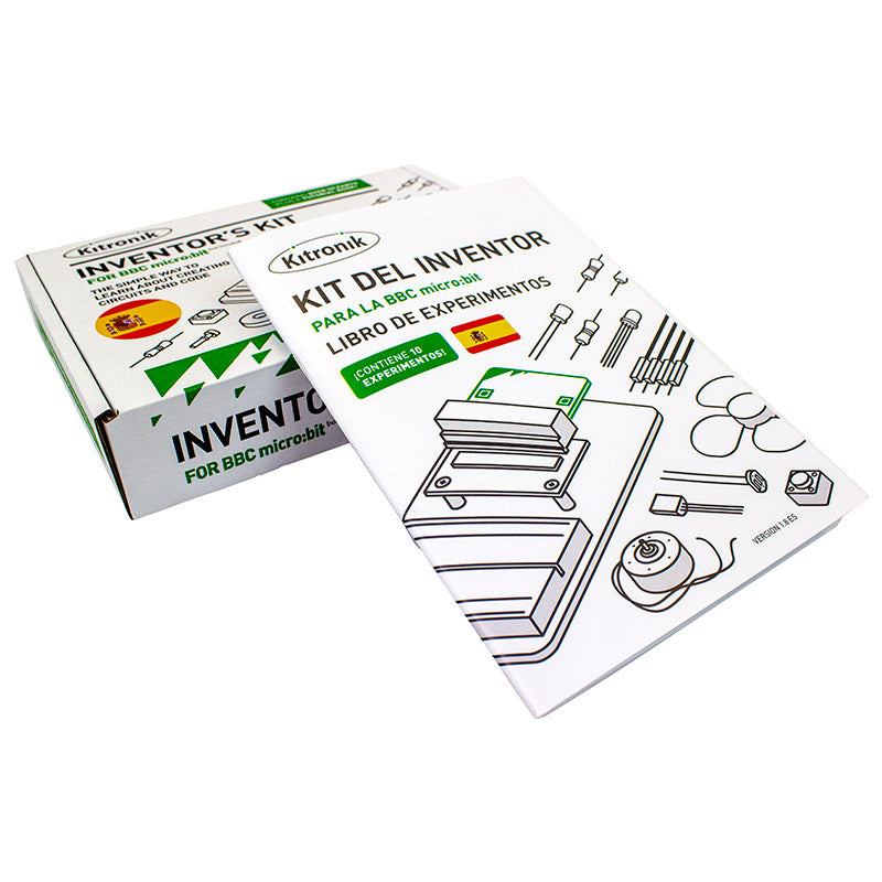 ES20 additional 1 kitronik inventors kit microbit spanish edition 20 pack