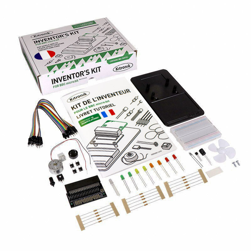 FR20 additional inventors kit for the bbc microbit kit pack of 20