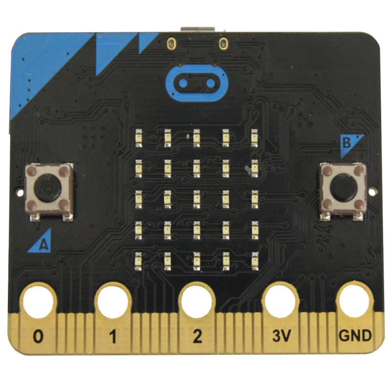 additional bbc microbit board only front