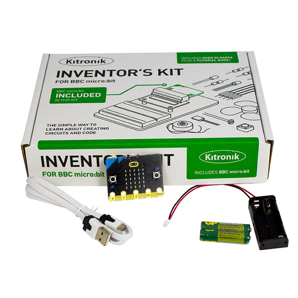 BBC micro:bit with Kitronik Inventor's Kit and Accessories