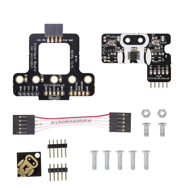 lf large line following add on move mini microbit