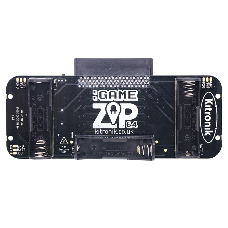 additional game zip 64 microbit console back