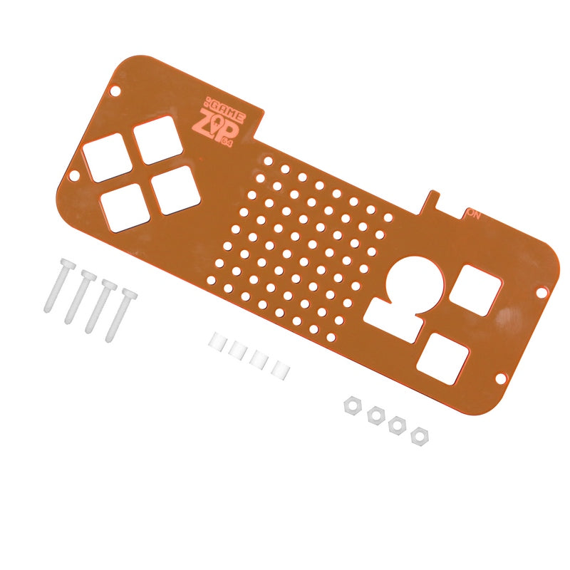 O large zip laser cut cover microbit example