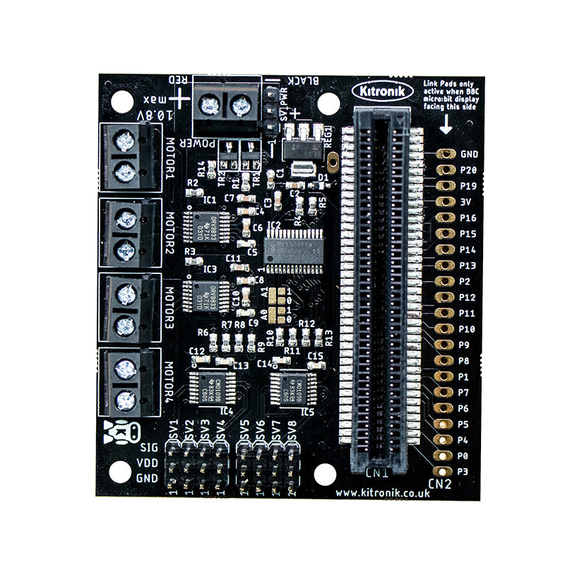 large all in 1 robotics board microbit