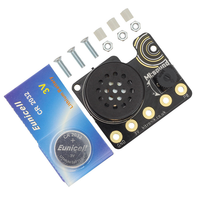 large mi sound speaker microbit cr2032