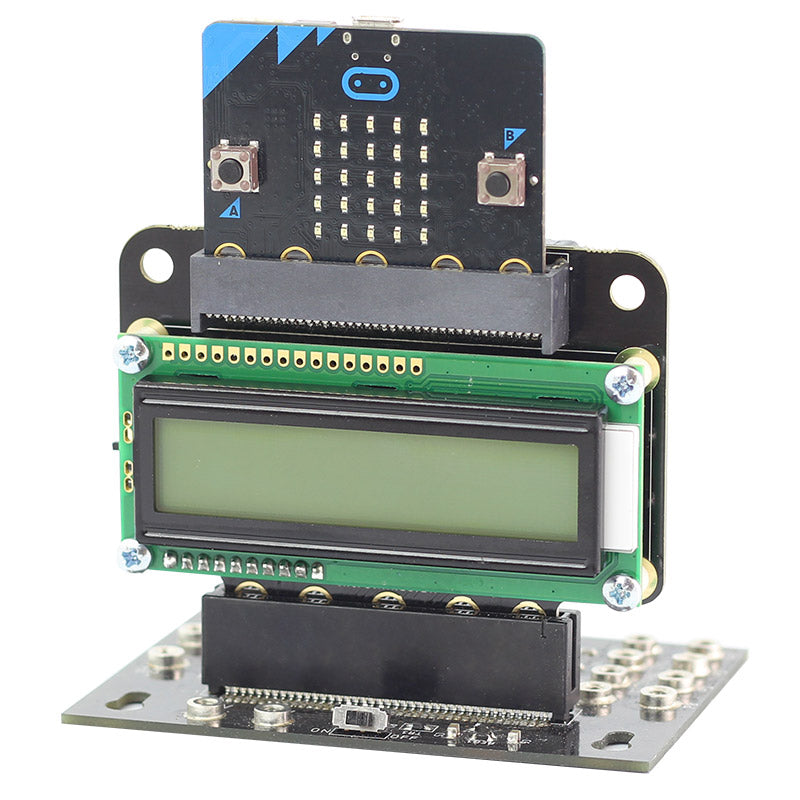 additional view text 32 microbit lcd screen inserted