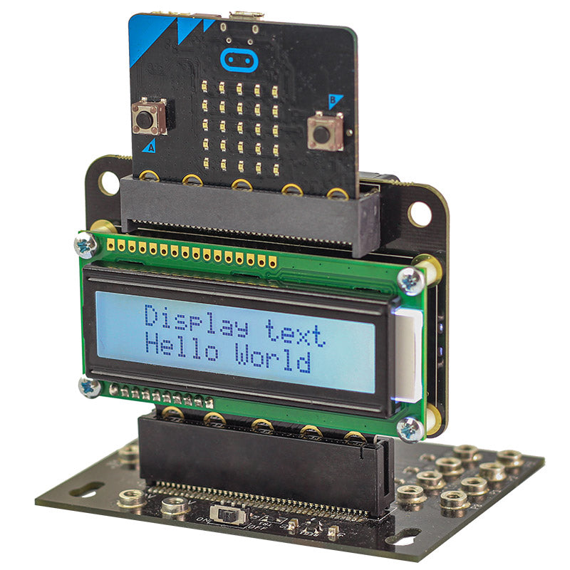 additional view text 32 microbit lcd screen on