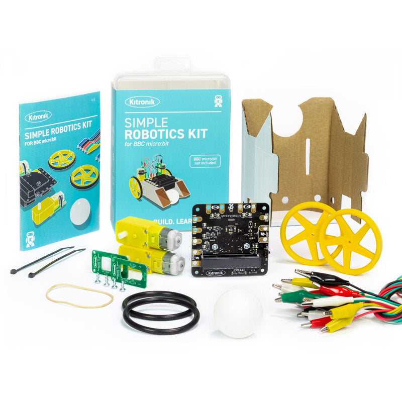 additional simple robotics kit microbit klip tt motor single kit parts1