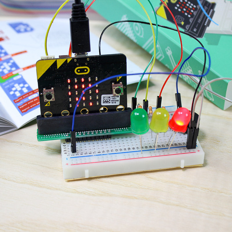 additional kitronik discovery kit bbc microbit pedestrian crossing